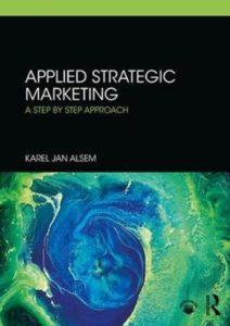 Cover Alsem's book Applied Strategic Marketing van Alsem
