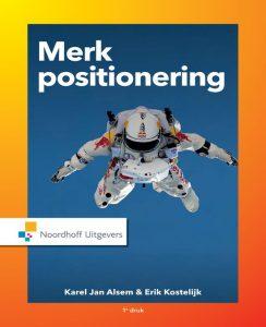 Omslag van Alsem's prijswinnende boek Merkpositionering