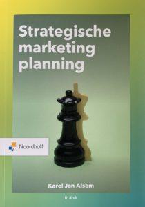 Omslag Alsem's boek Strategische Marketingplanning, 8e druk
